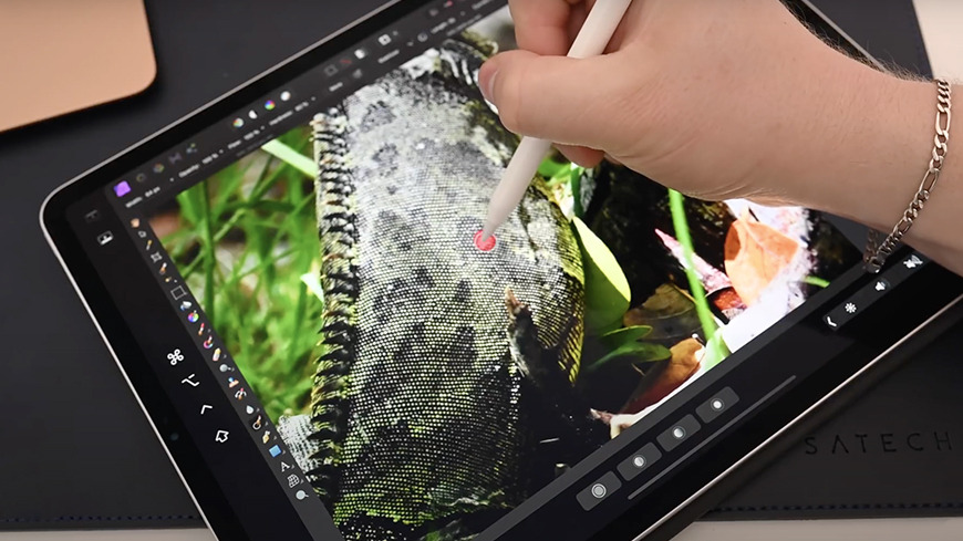 Image creation and editing with Apple Pencil is one of the key features of Sidecar