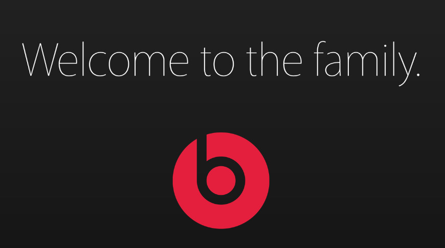 Apple welcomes Beats by Dre to the family