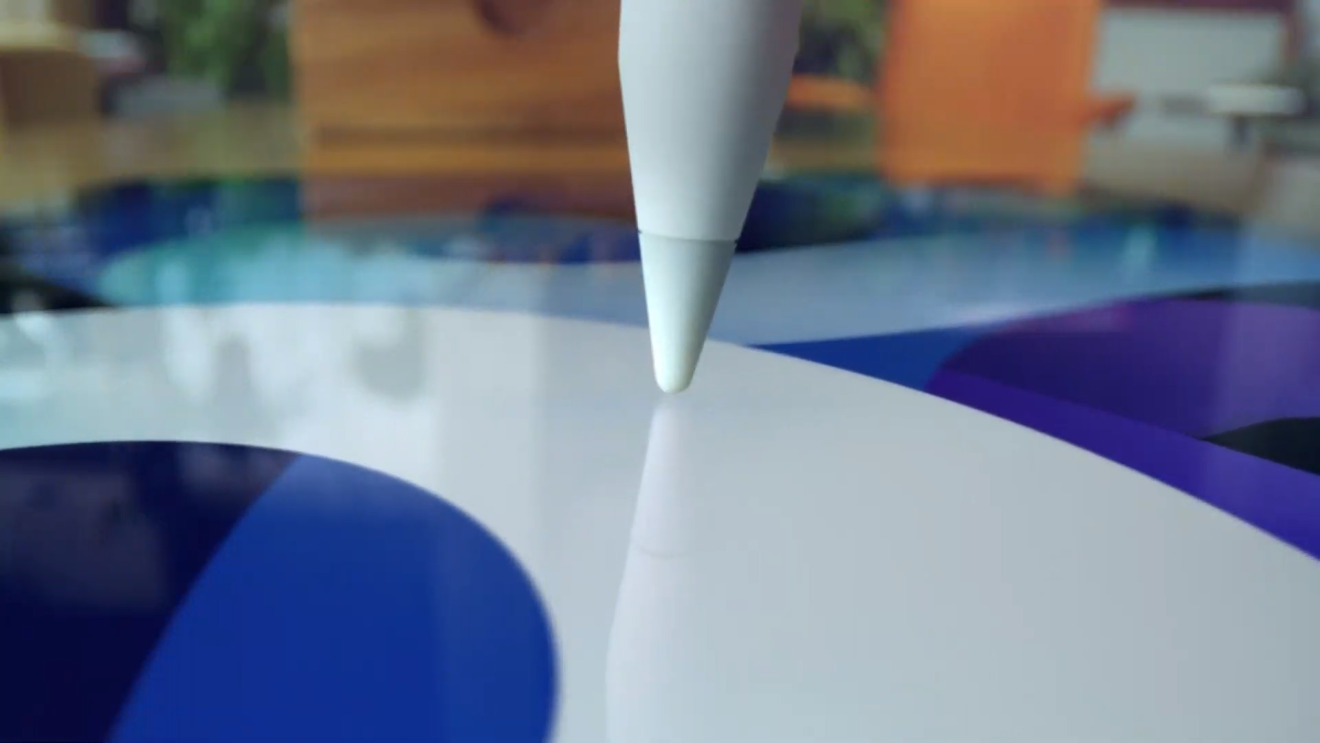 The new model supports the second-generation Apple Pencil