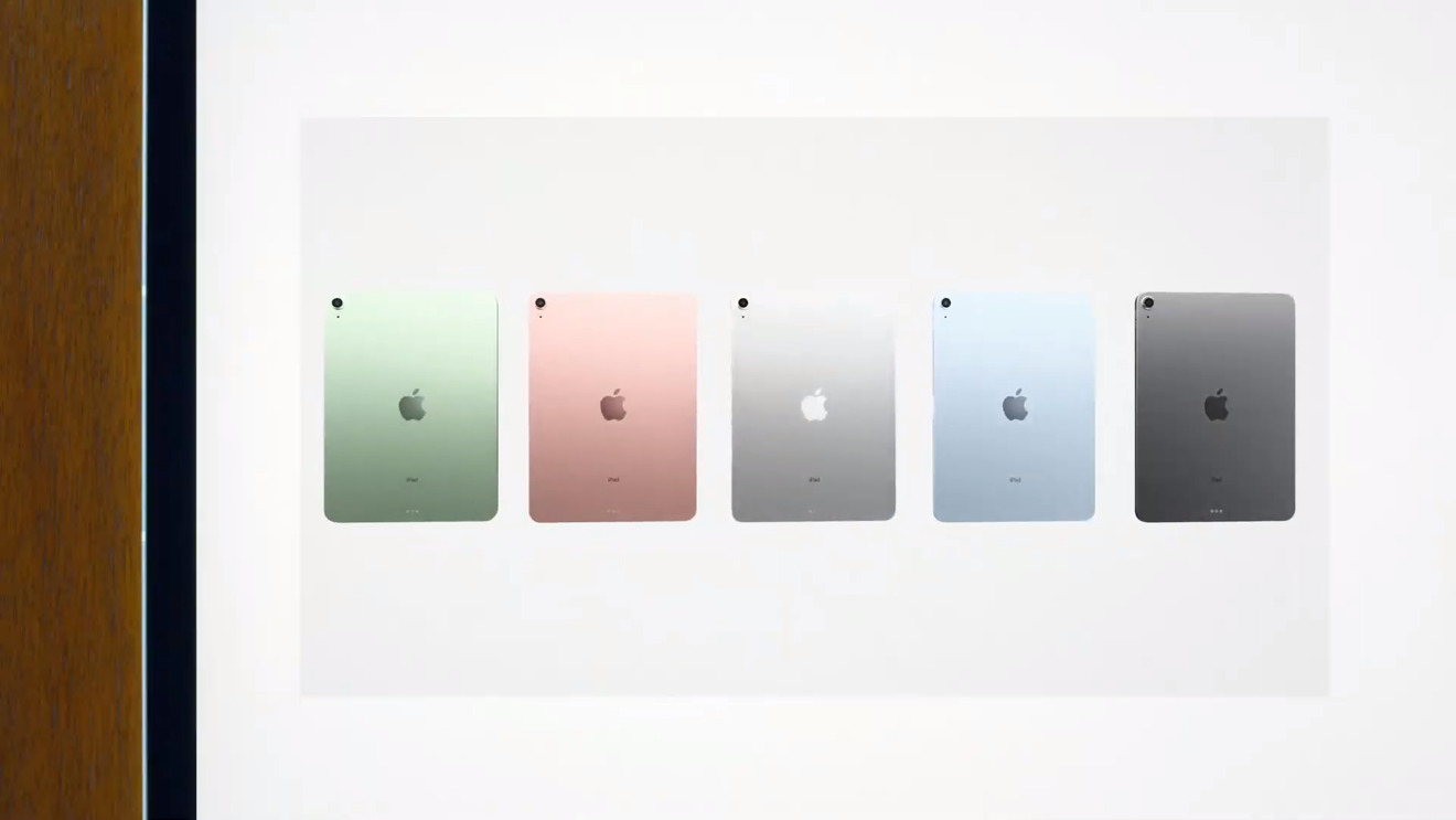 Color variants for the new tablet