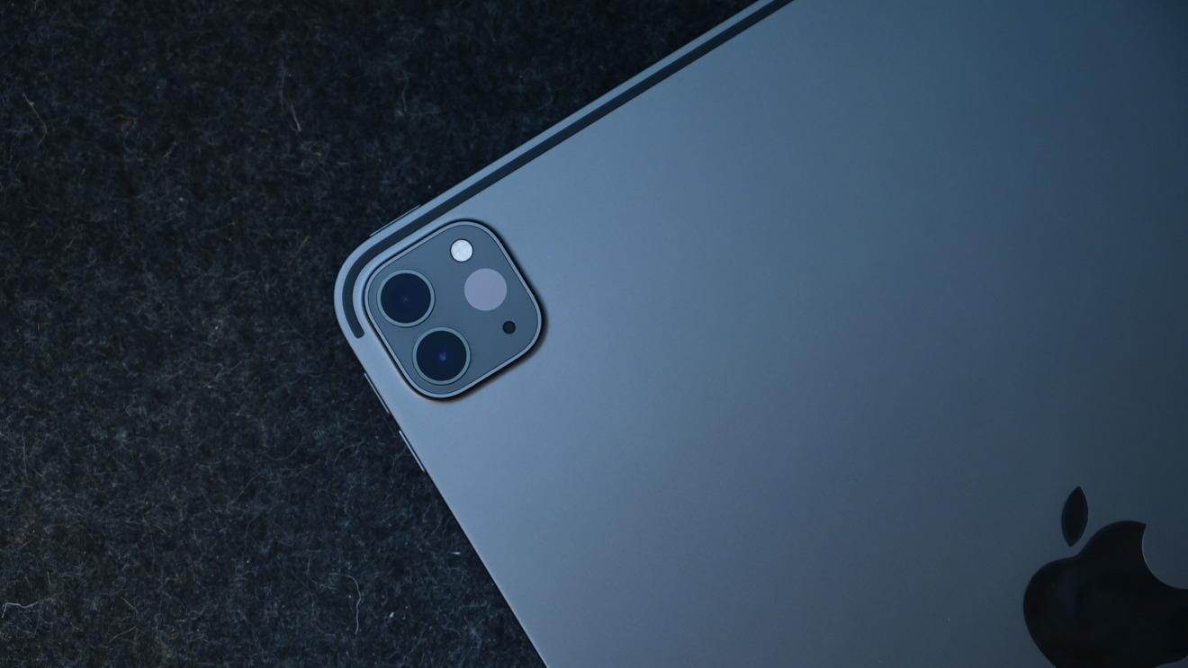 The 2020 iPad Pro has two lenses an a LiDAR sensor for AR