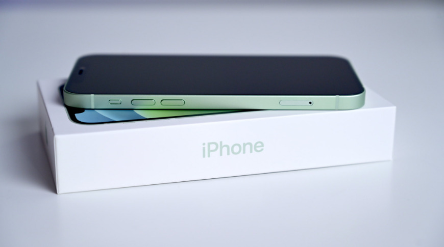 The iPhone 12 doesn't ship with a power adapter or headphones, thus the smaller box reduces waste