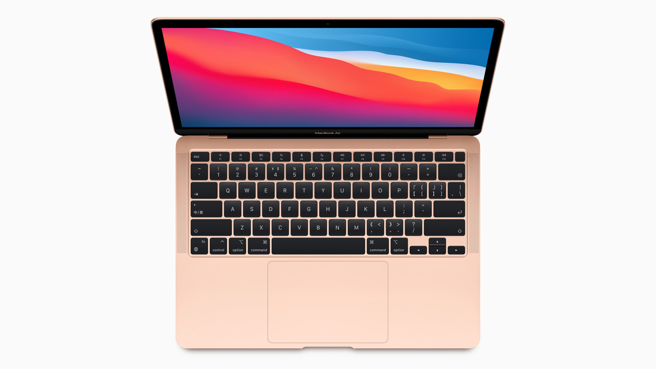 The late-2020 MacBook Air with M1 chip