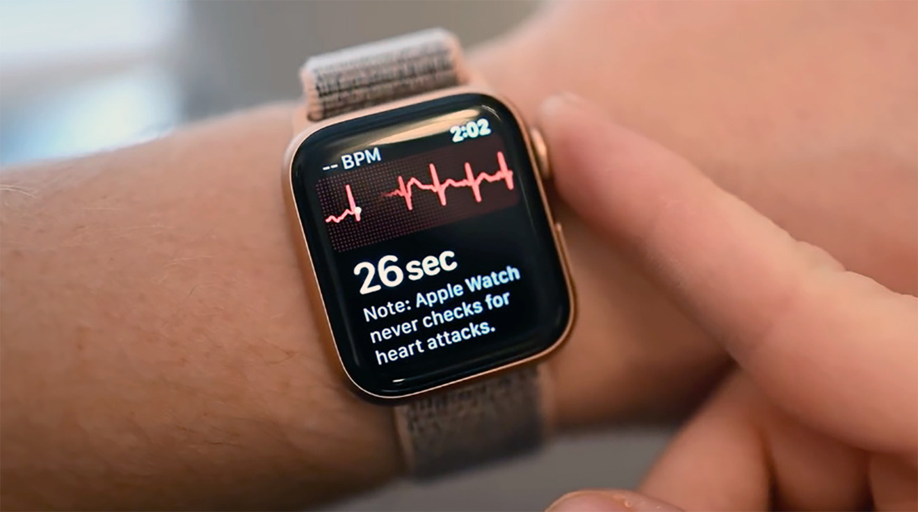 Health tracking is a big part of watchOS