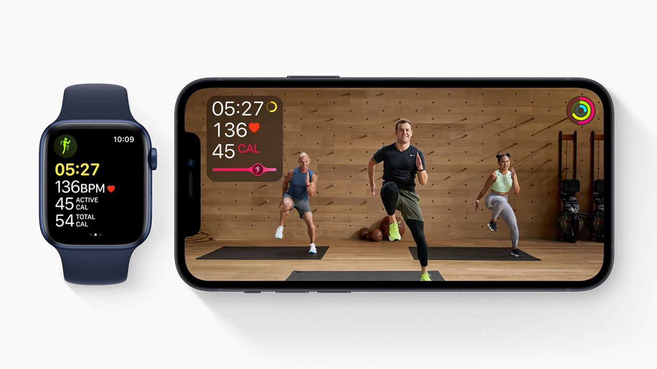 Apple Fitness+ provides Apple Watch owners with a home workout service