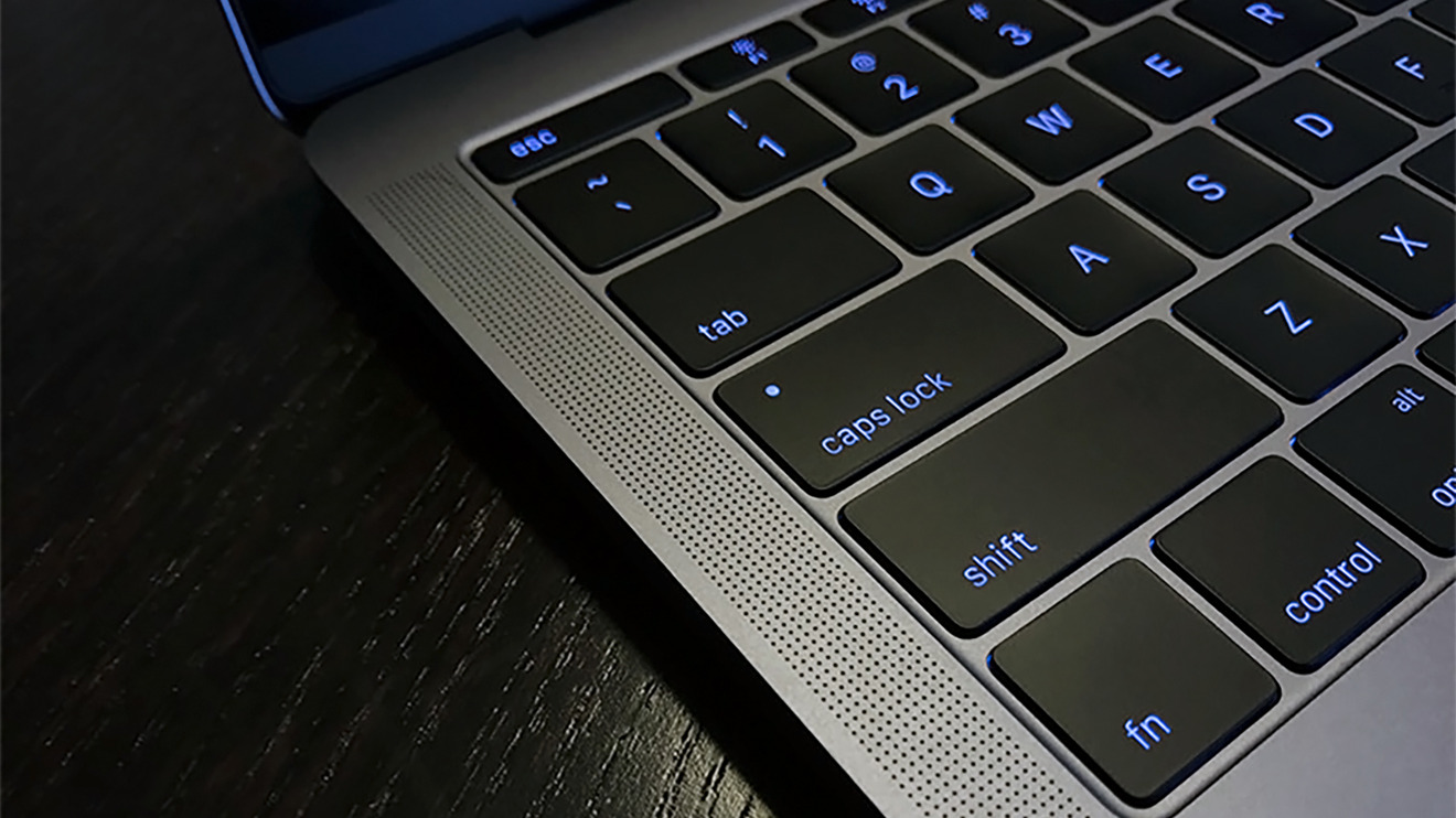 Butterfly keys on the 2016 model without Touch Bar