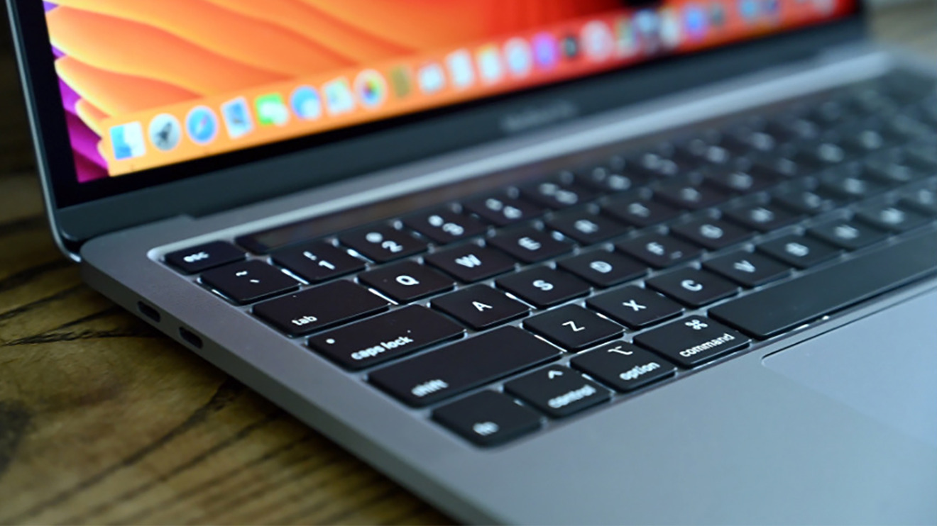 The 13-inch MacBook Pro has the latest Magic Keyboard