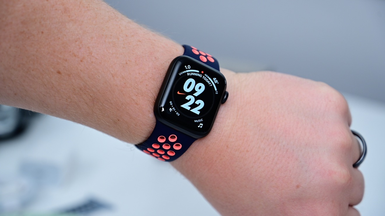 Nike Sport Band on the 2020 wearable