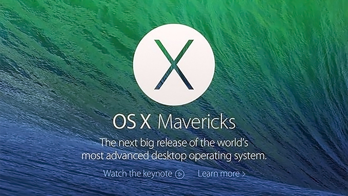 Mavericks saw Apple switch from a big-cat to California landmarks naming scheme