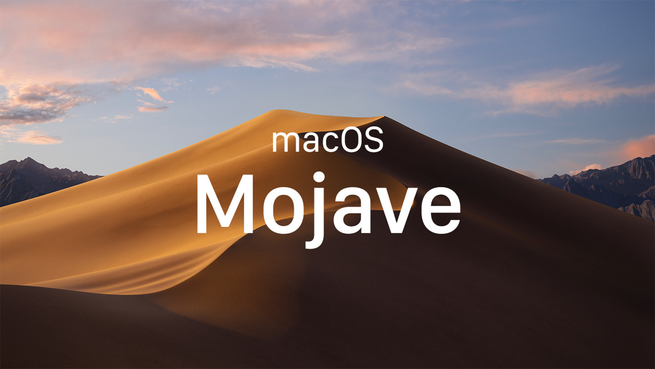 Apple released macOS Mojave in September 2018