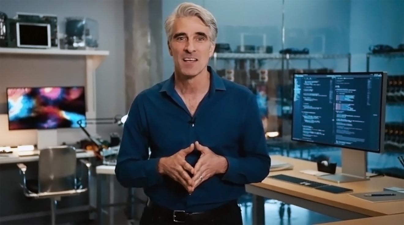 Craig Federighi talks about Rosetta 2