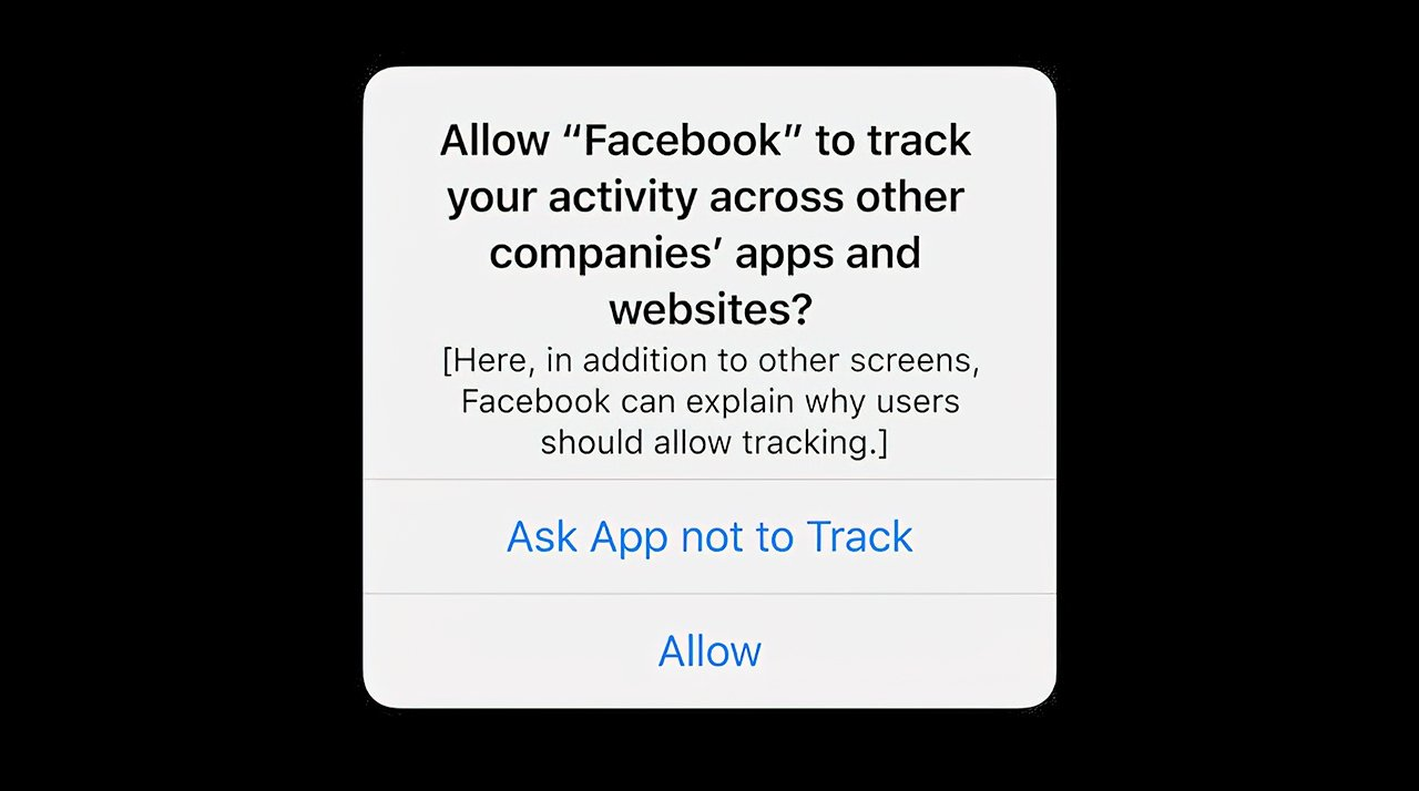 Tim Cook says Facebook need only explain why it needs to track users