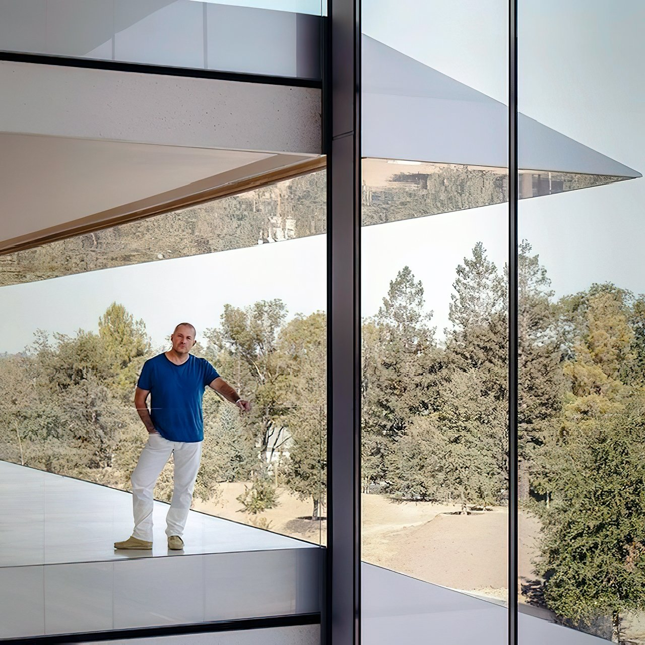 Jony Ive's attention to detail is felt through the campus