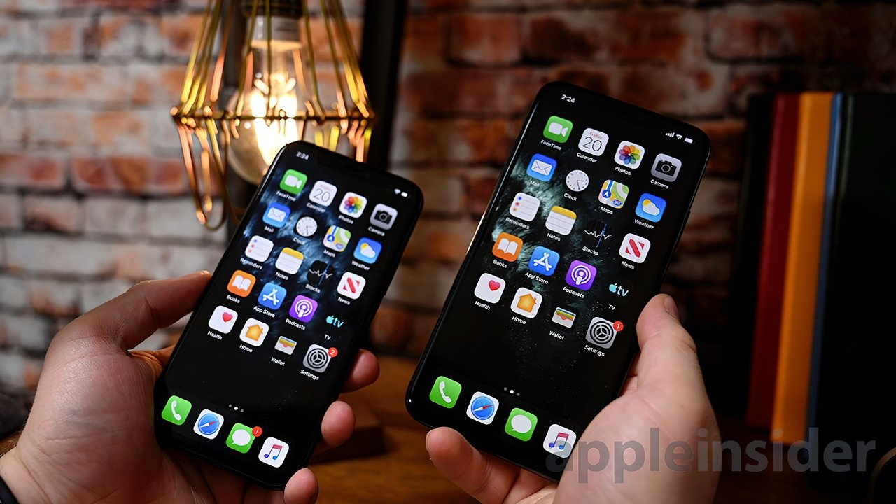 We gave the iPhone 11 Pro Max (R) and its smaller sibling 4.5 out of 5 stars