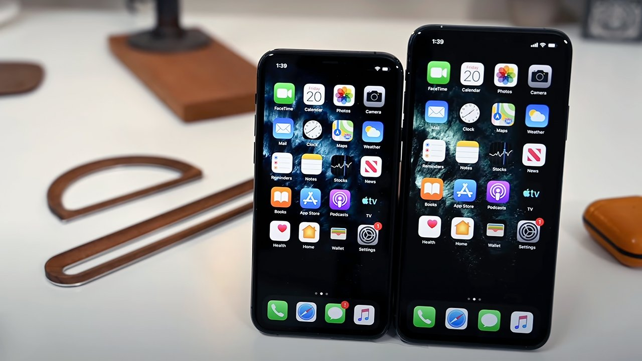 The two iPhone 11 Pro siblings