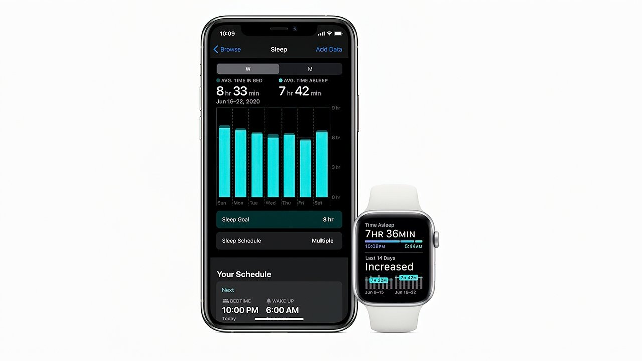 Sleep tracking is one of the marquee features in watchOS 7