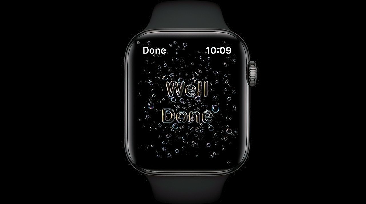 Hand washing in watchOS 7