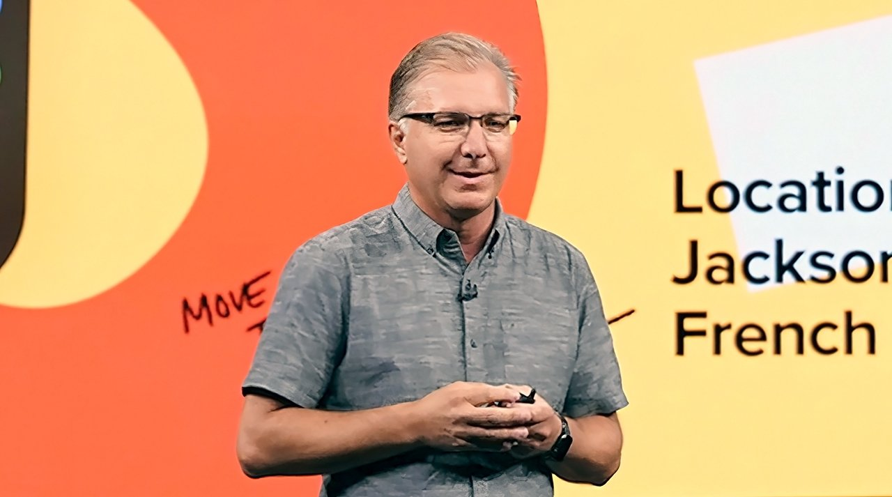 Joswiak replaced Phil Schiller as Apple's senior vice president of Worldwide Marketing