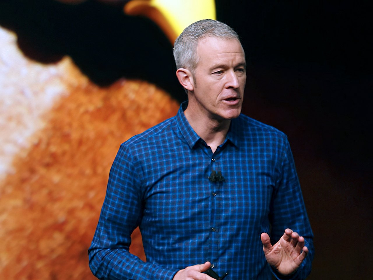 COO Jeff Williams presents at many Apple Events