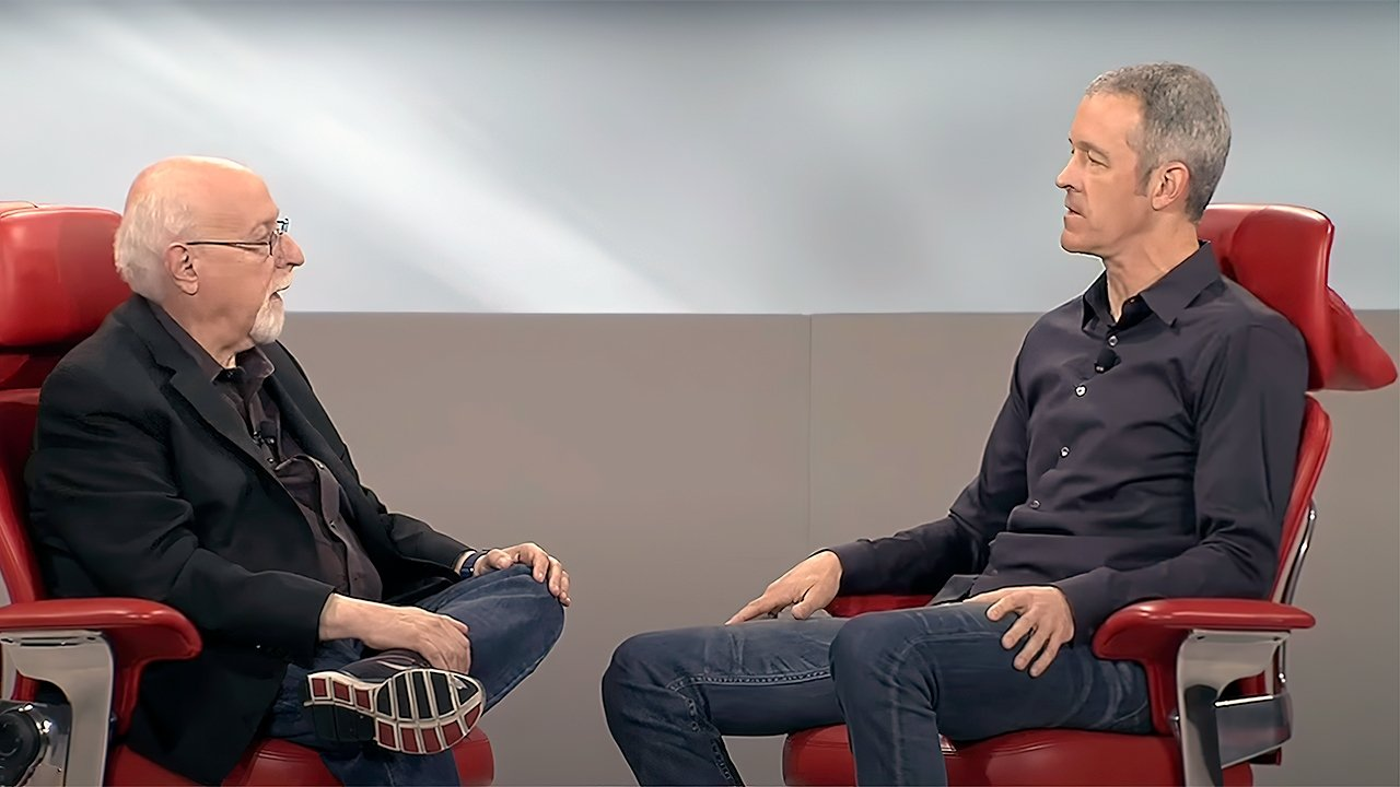 Jeff Williams sitting for a 2015 interview with Walt Mossberg
