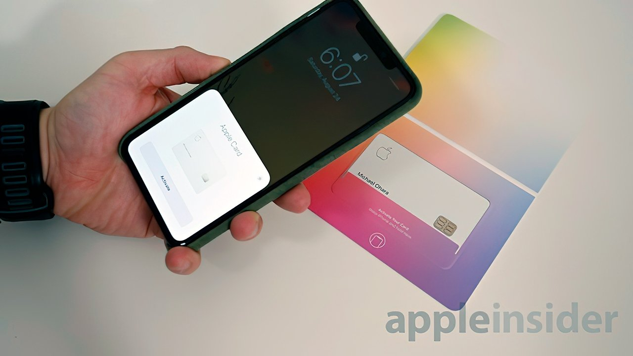 NFC in the packaging lets you activate the physical card