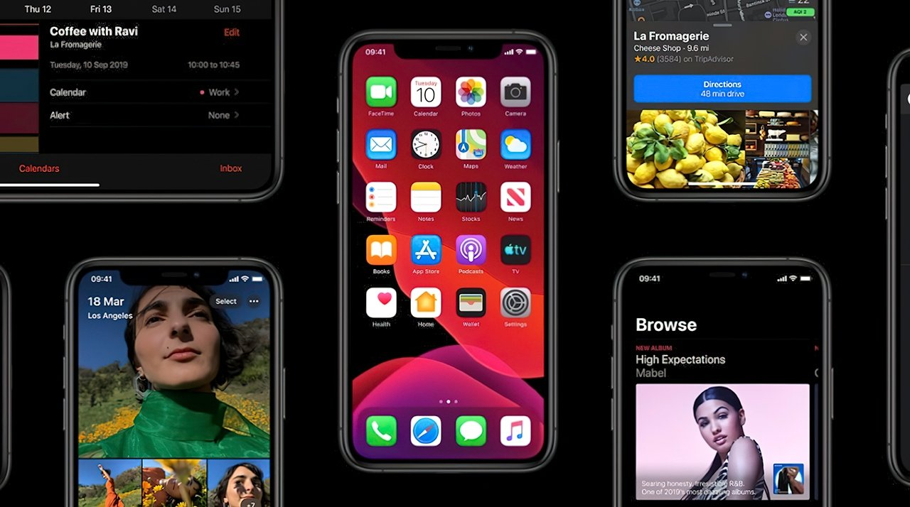iOS 13 was Apple's 2019 mobile software update