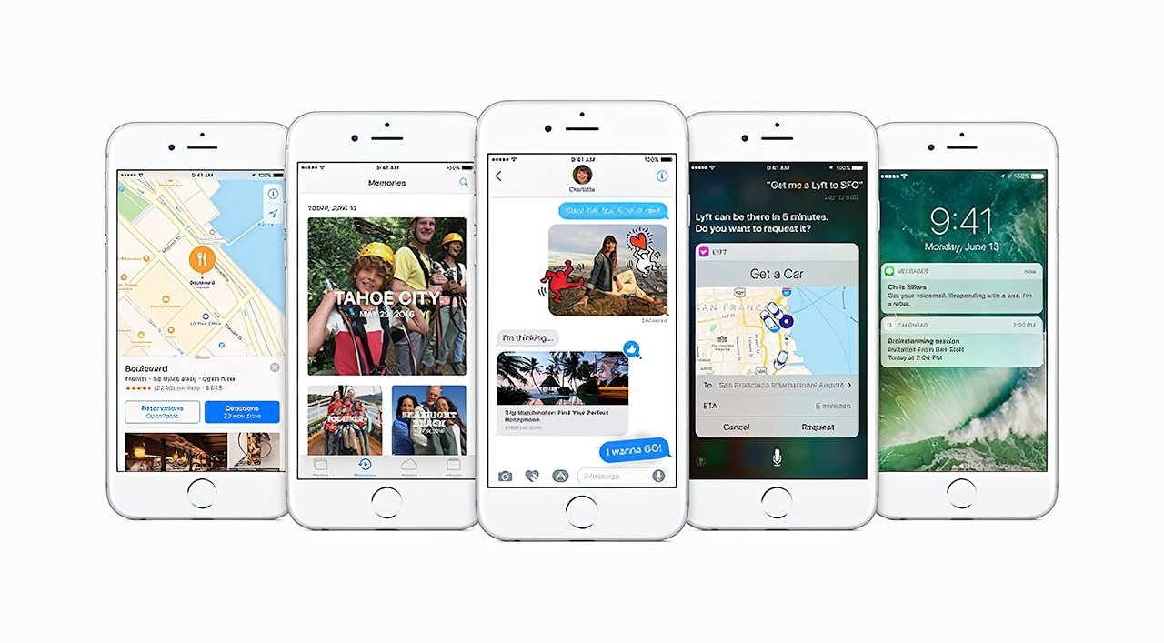 Apple released iOS 10 in 2016