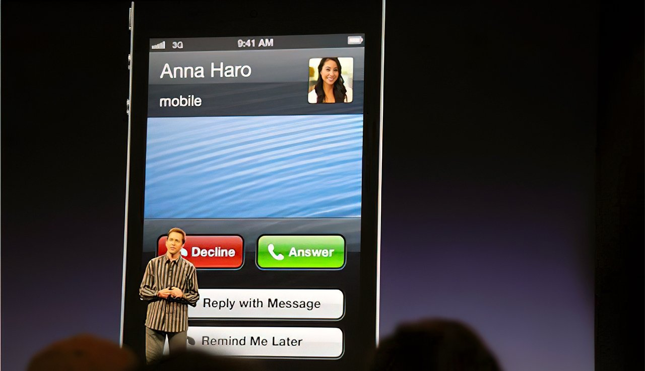 Former Apple software lead Scott Forstall at the iOS 6 launch