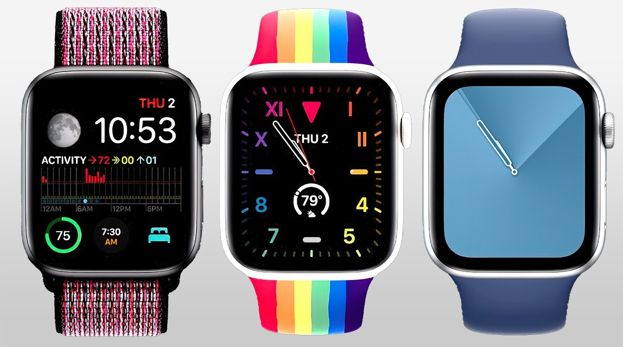 Customize watchOS with faces and complications