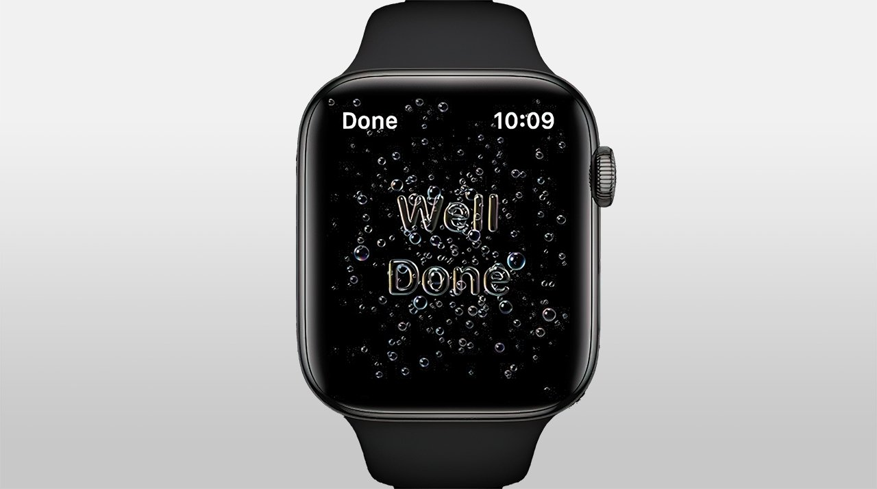 watchOS 7 can optionally remind you to wash your hands after returning home