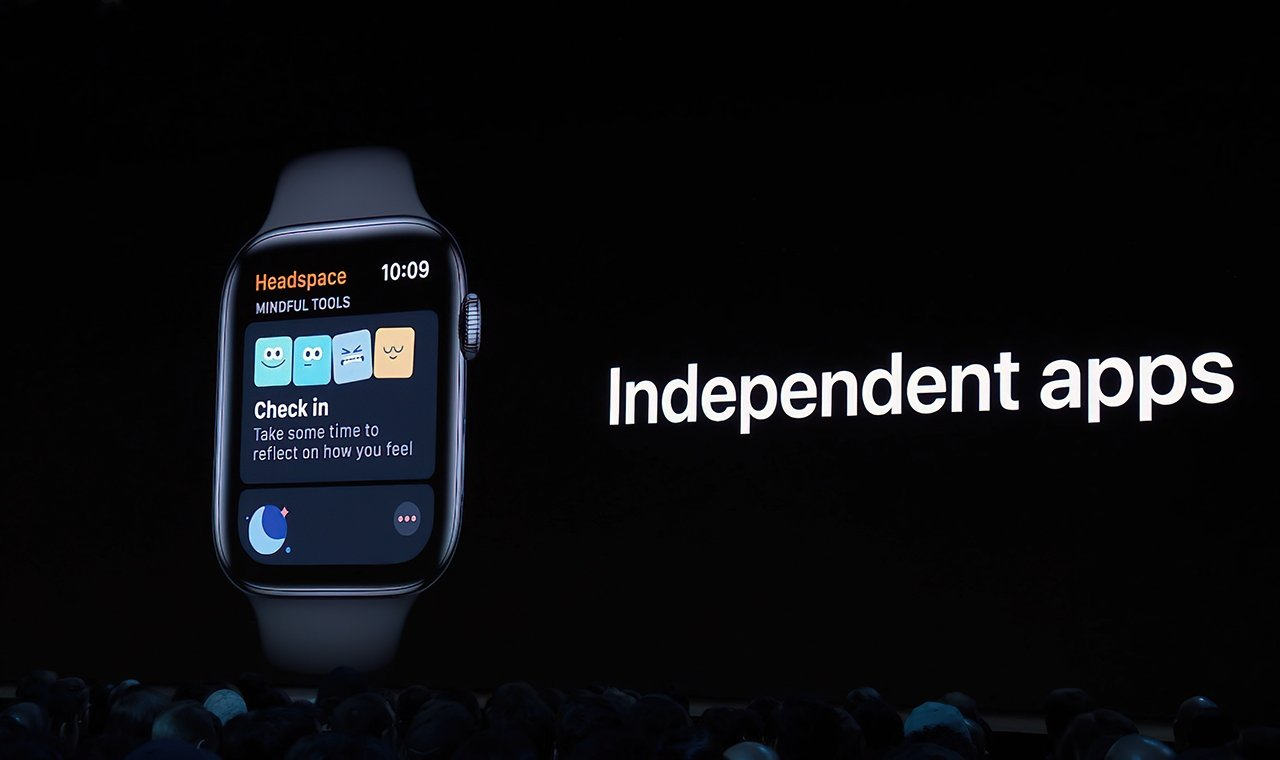 watchOS 6 debuted an iPhone-independent App Store on the watch