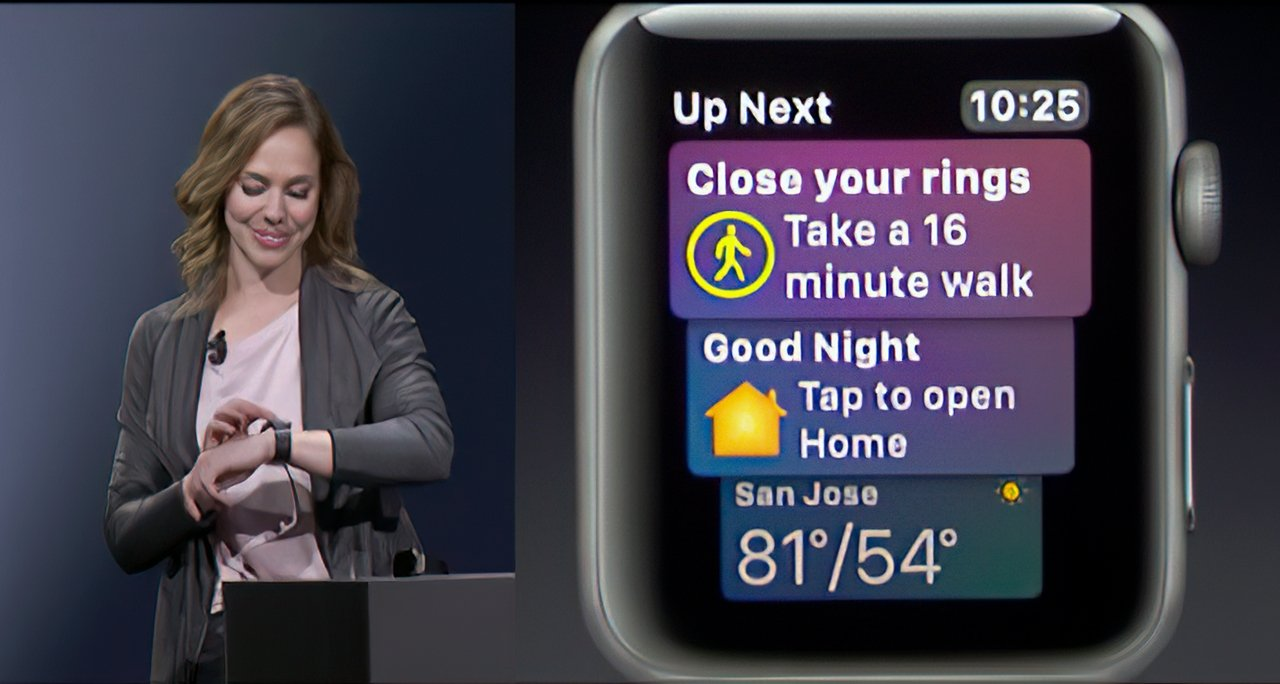 watchOS 4 added the Siri watch face