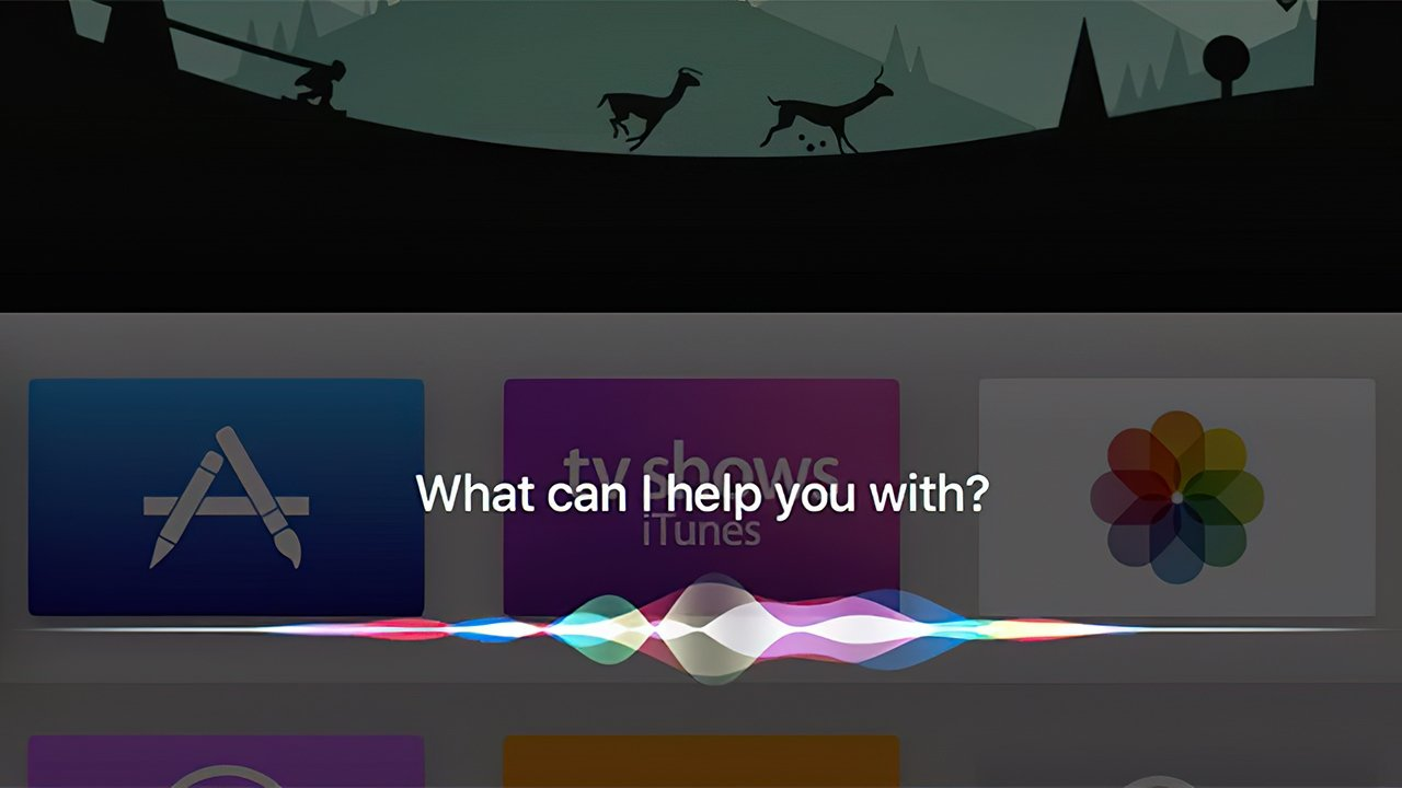 Siri helps with finding content on tvOS
