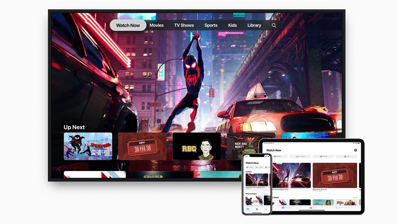 Apple TV+ is a cross-platform service, including some non-Apple streaming boxes