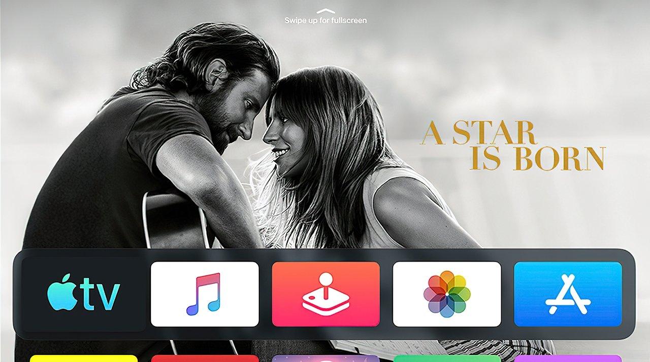 The Apple TV+ app on the Apple TV set-top box