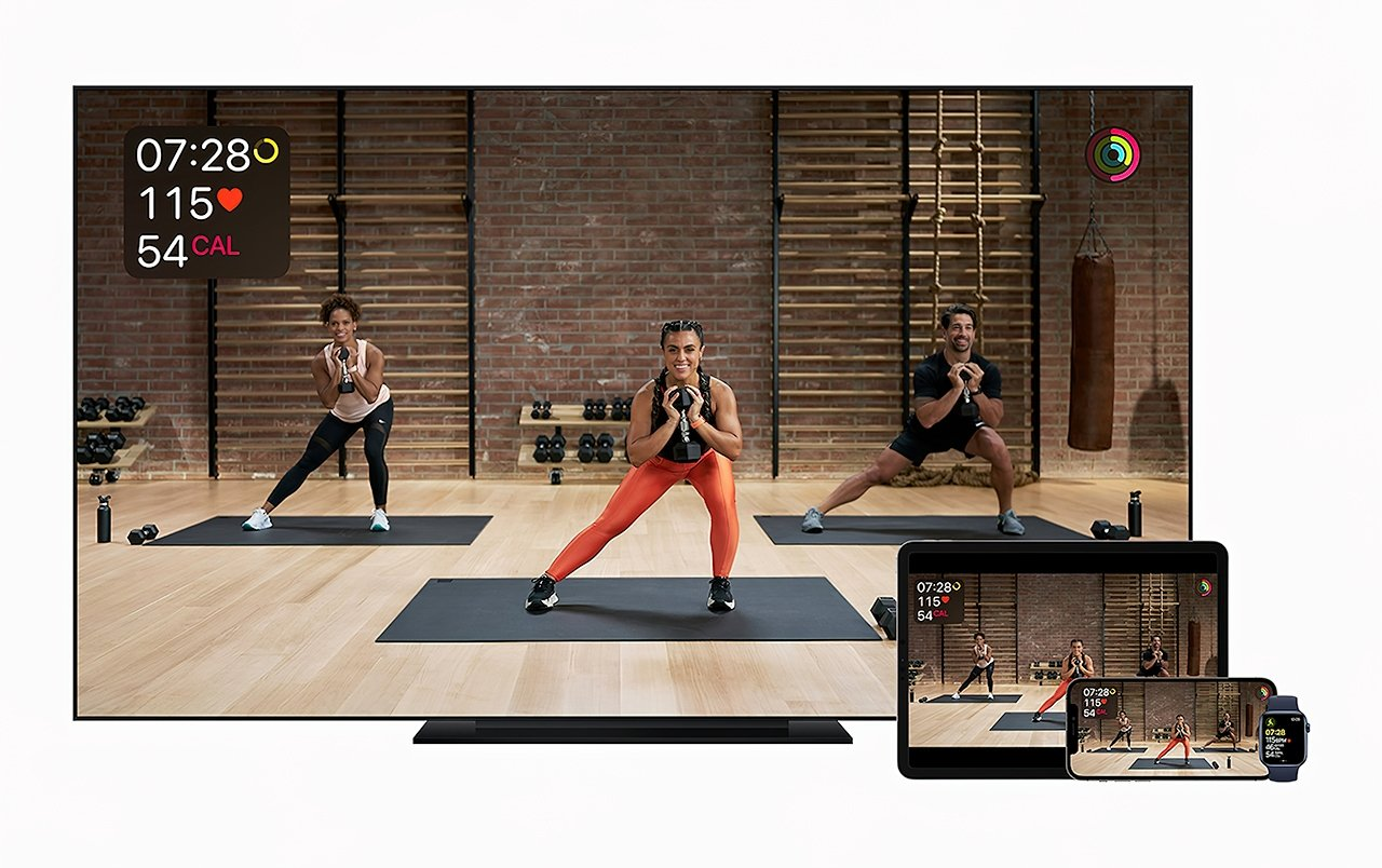 Apple Fitness+ is part of the Apple One Premier plan