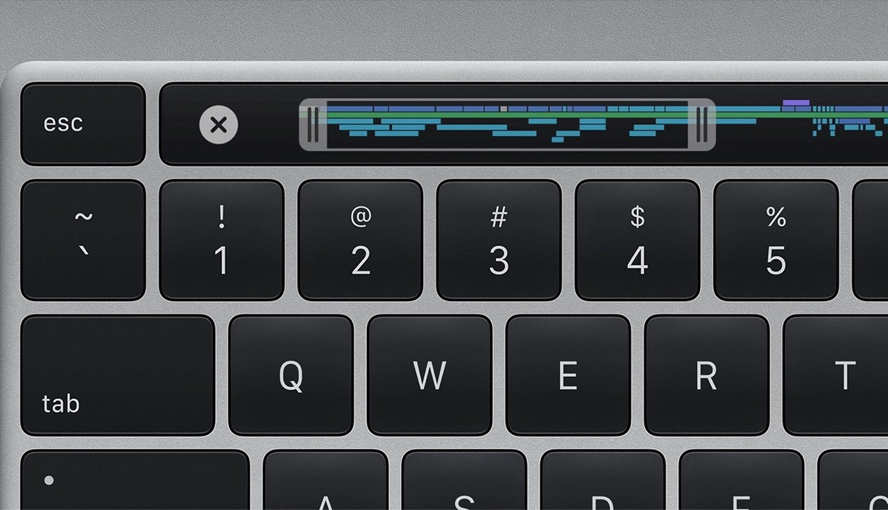 The Magic Keyboard on the 16-inch MacBook Pro