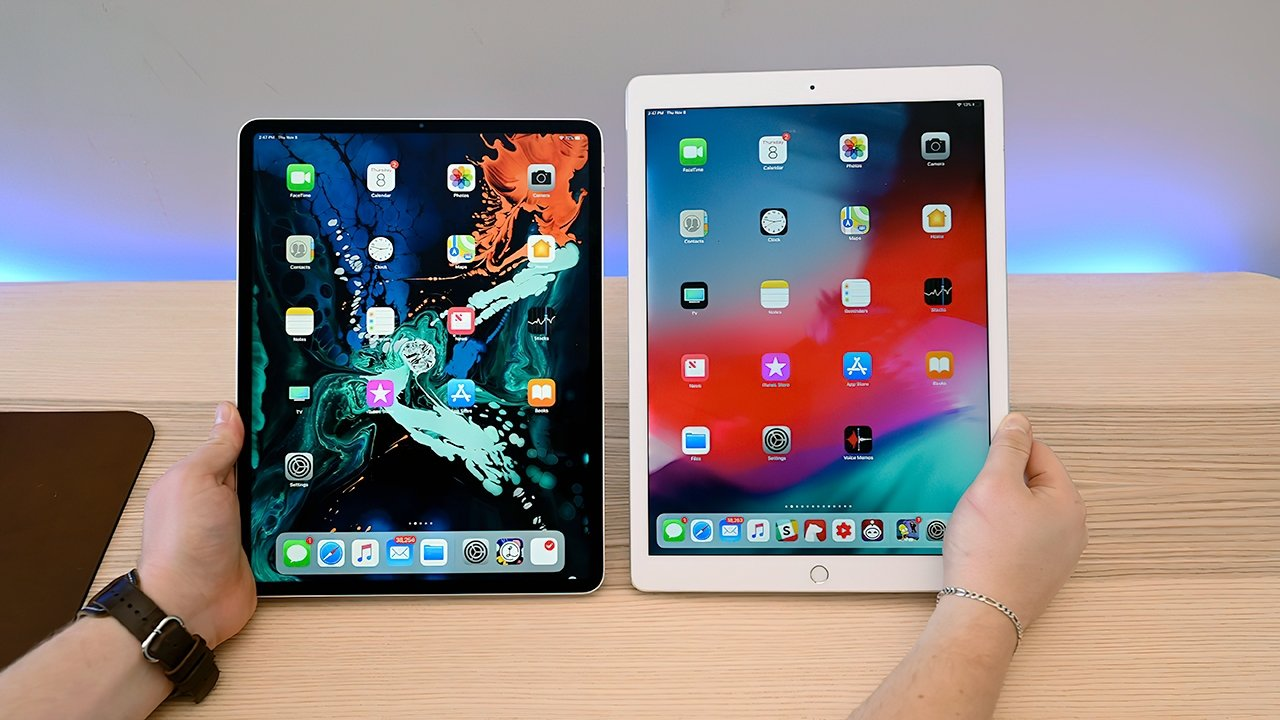 The slimmed-down design of the 12.9-inch iPad Pro greatly changes its physical footprint