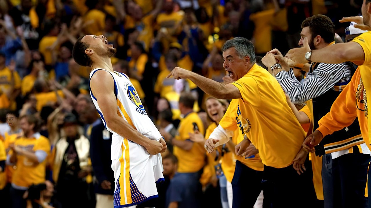 Eddy Cue, seen at a Golden State Warriors game. Image credit: The Chronicle