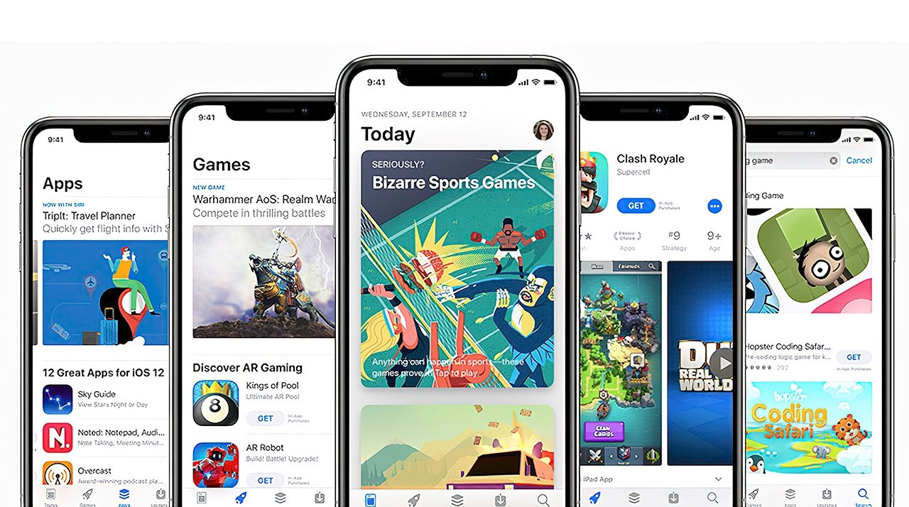 The App Store is a digital marketplace for all of your app needs