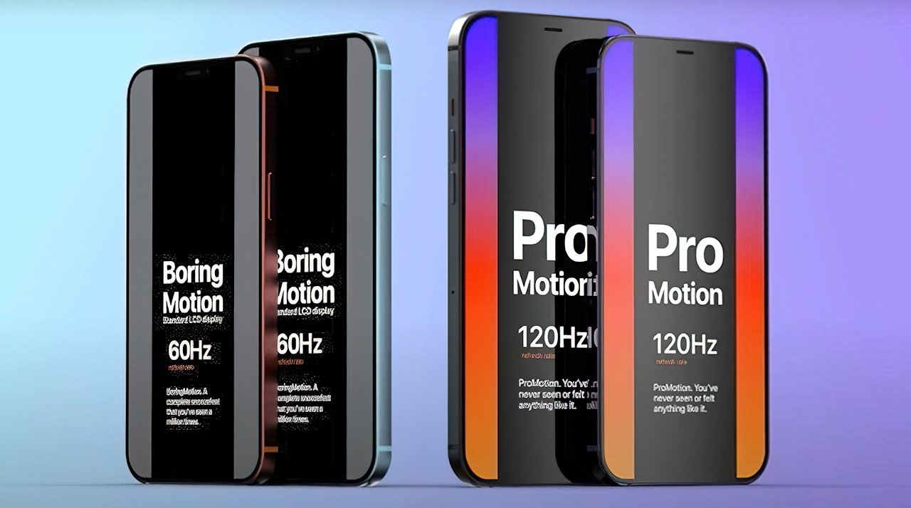 ProMotion display with 120Hz refresh might come to the 'iPhone 13'