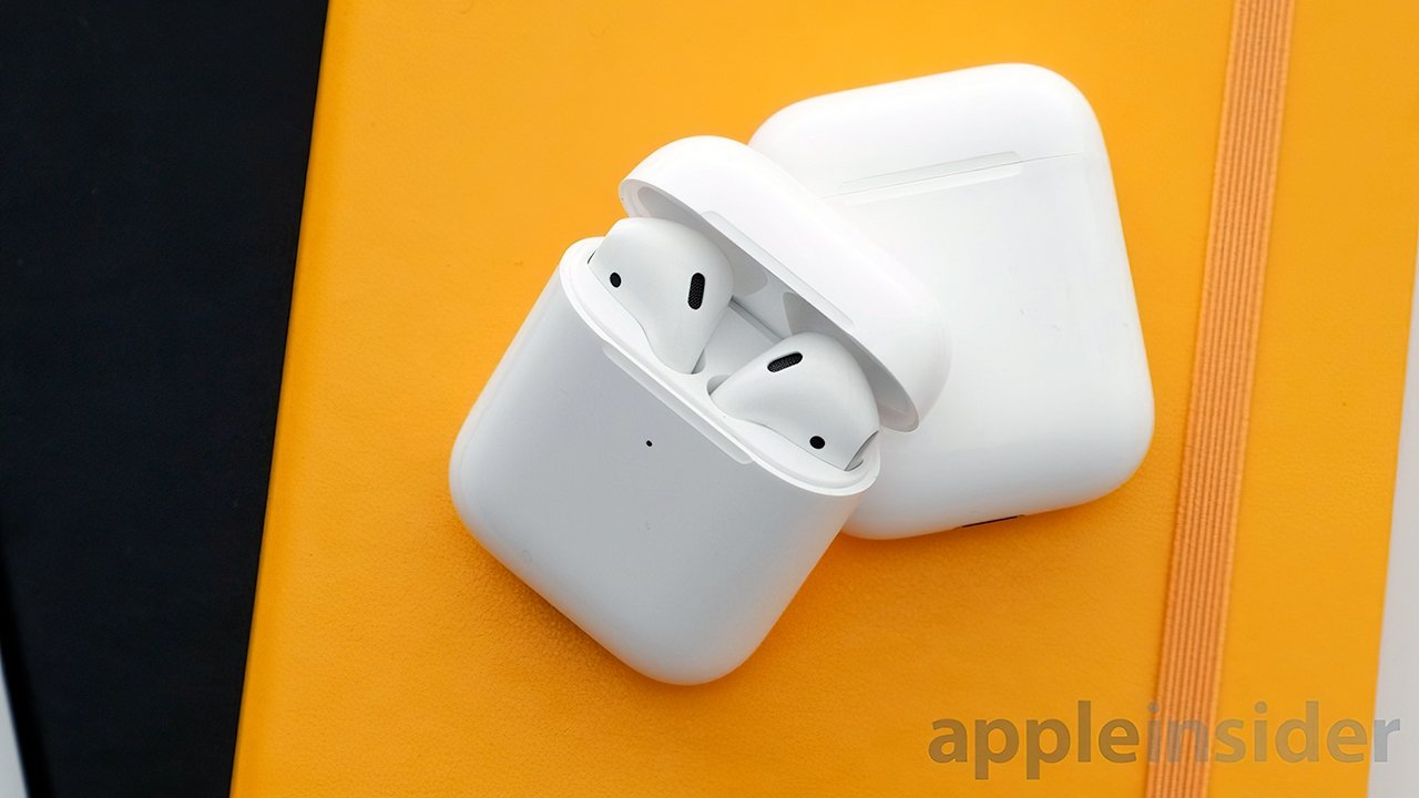 Second Generation AirPods with Wireless Charging Case