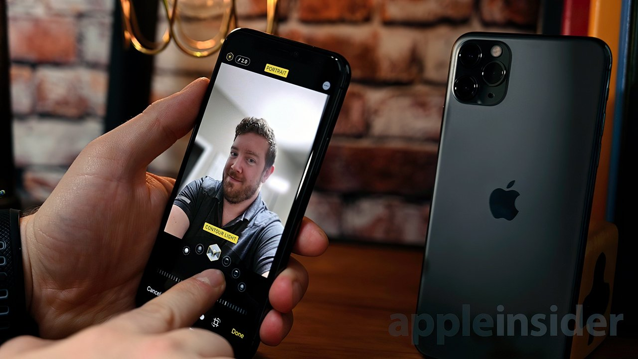 The 12MP True Depth Camera System was introduced for all of the iPhone 11 models