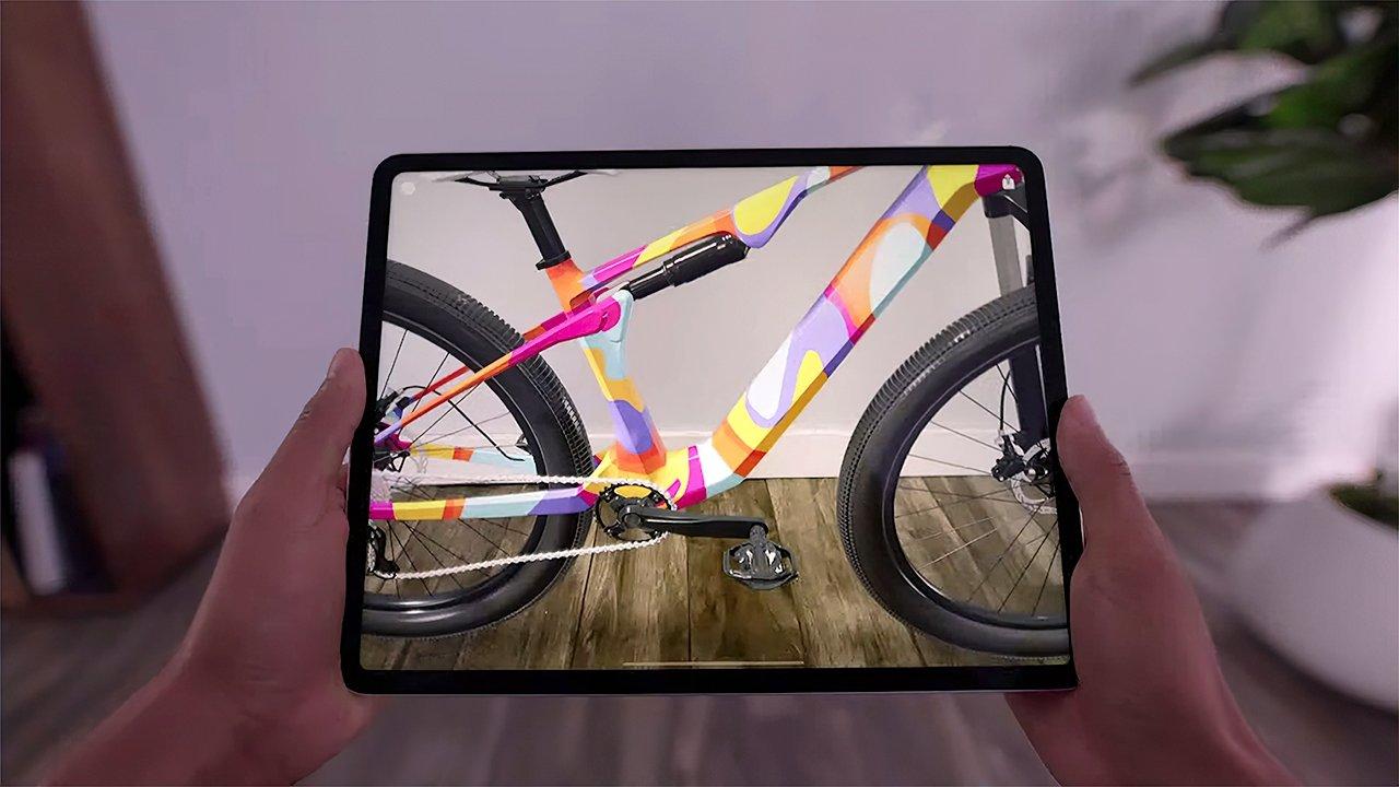 Using LiDAR-powered AR in the 2021 iPad Pro