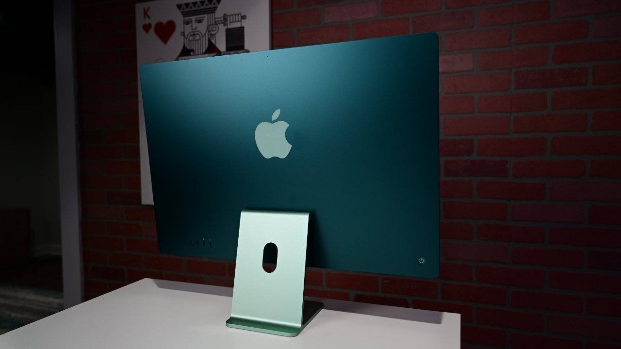 The iMac is colorful again with seven available hues