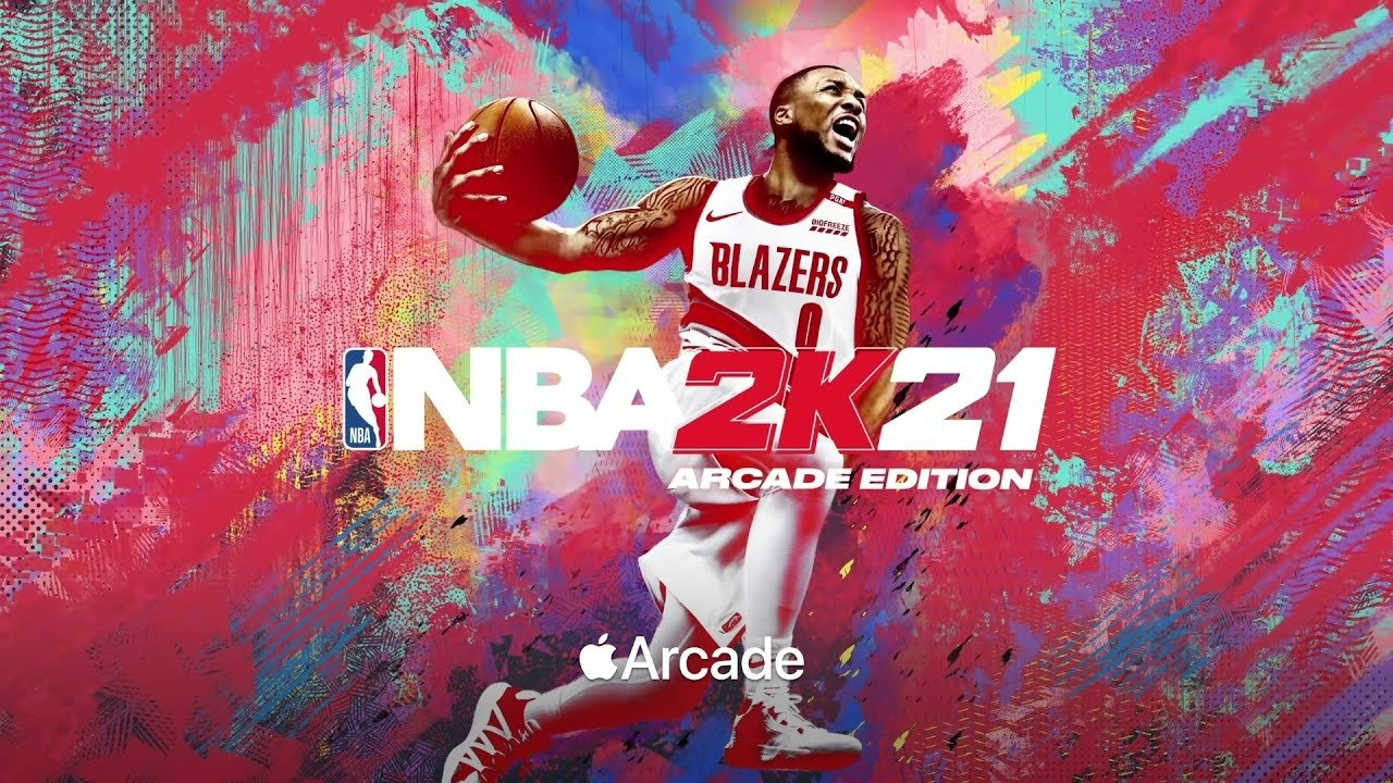 NBA 2k21 is available on tvOS through the Apple Arcade