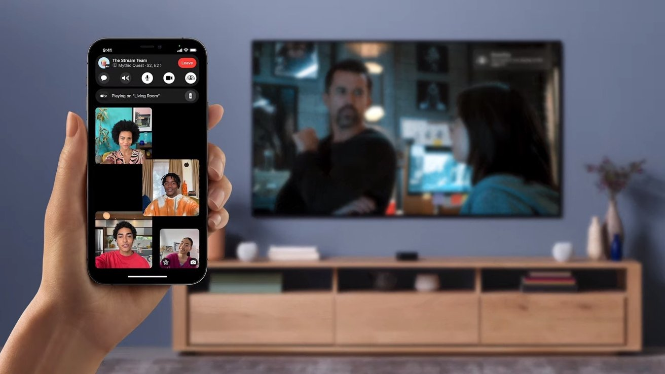 Watch movies and other content together over FaceTime via SharePlay