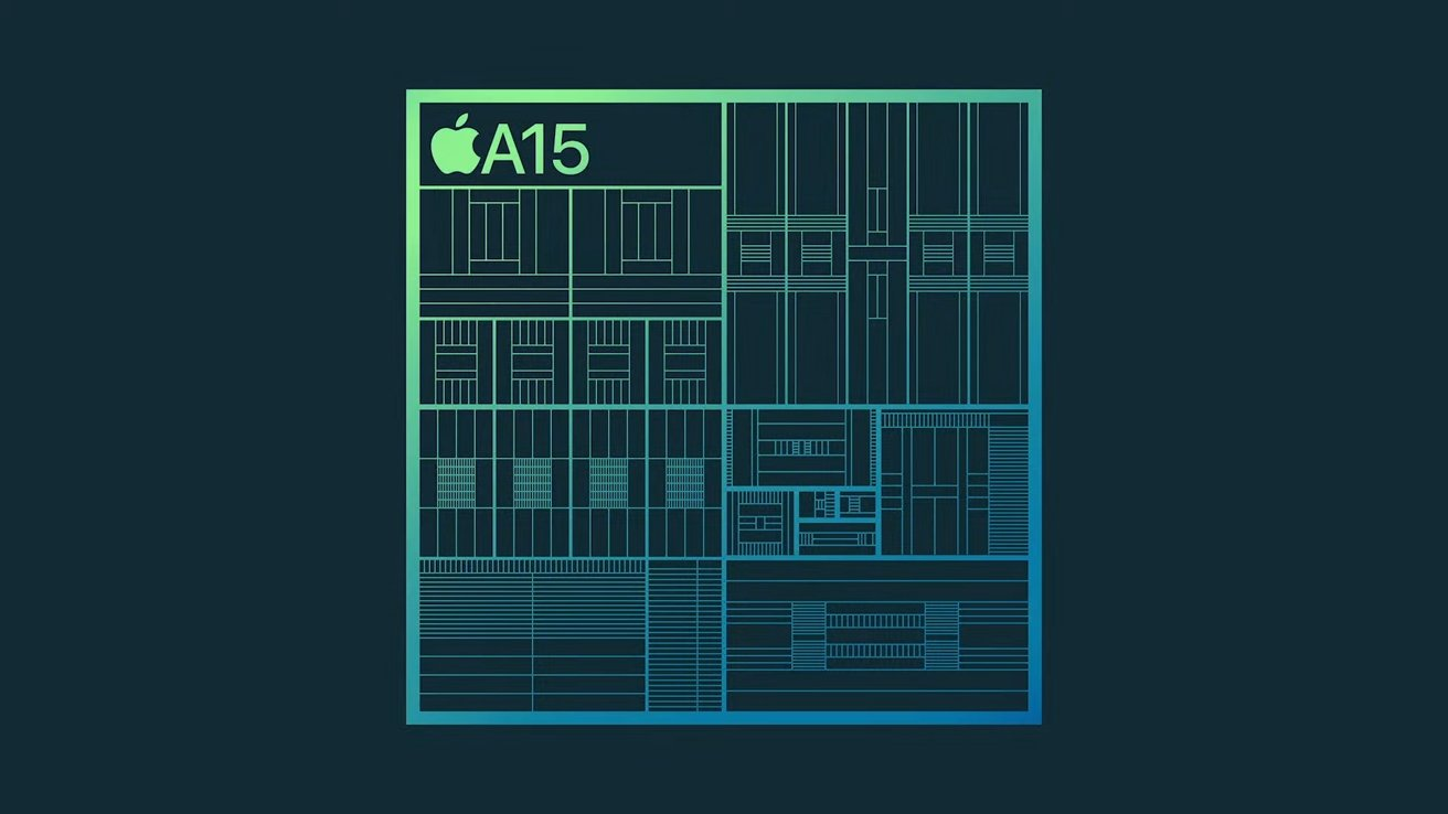 The A15 processor is 50% faster than the A14 before it