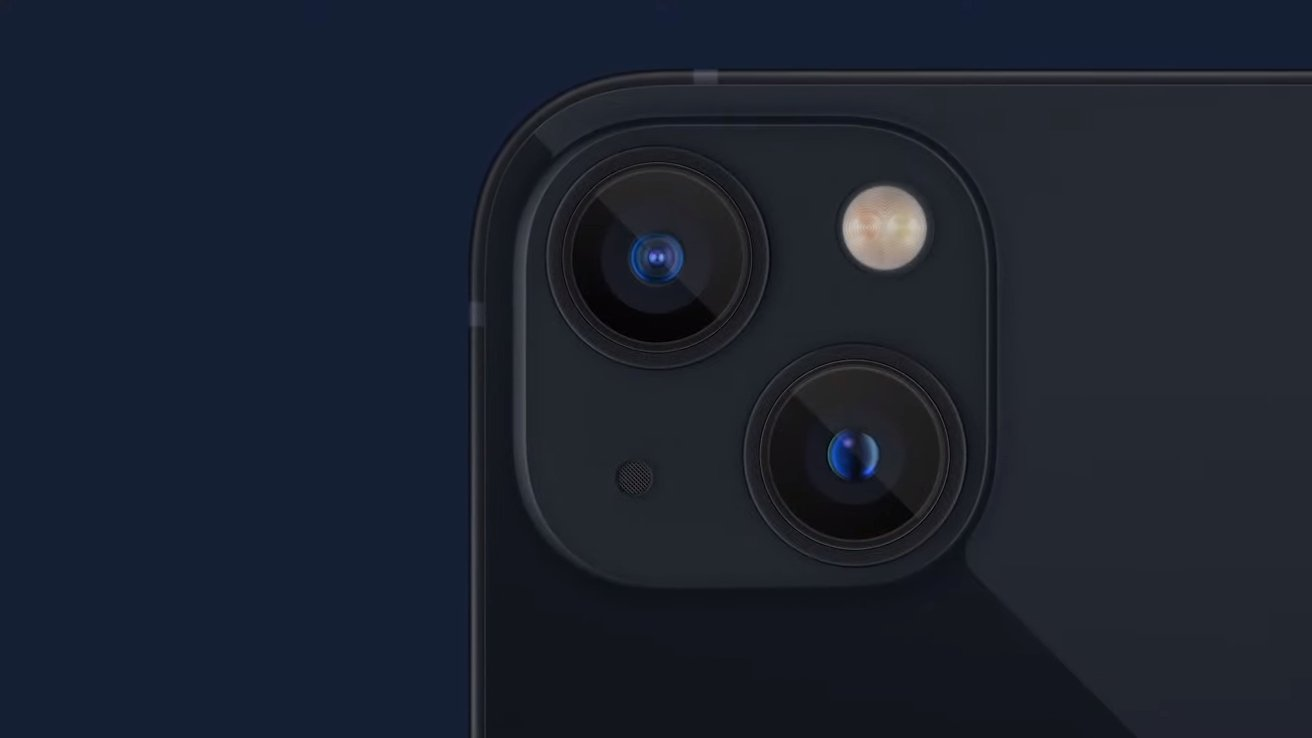 The new camera improvements are available in both standard and mini iPhone models
