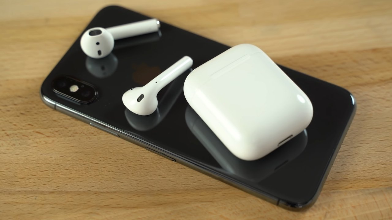 First-generation AirPods didn't have a wireless charging option